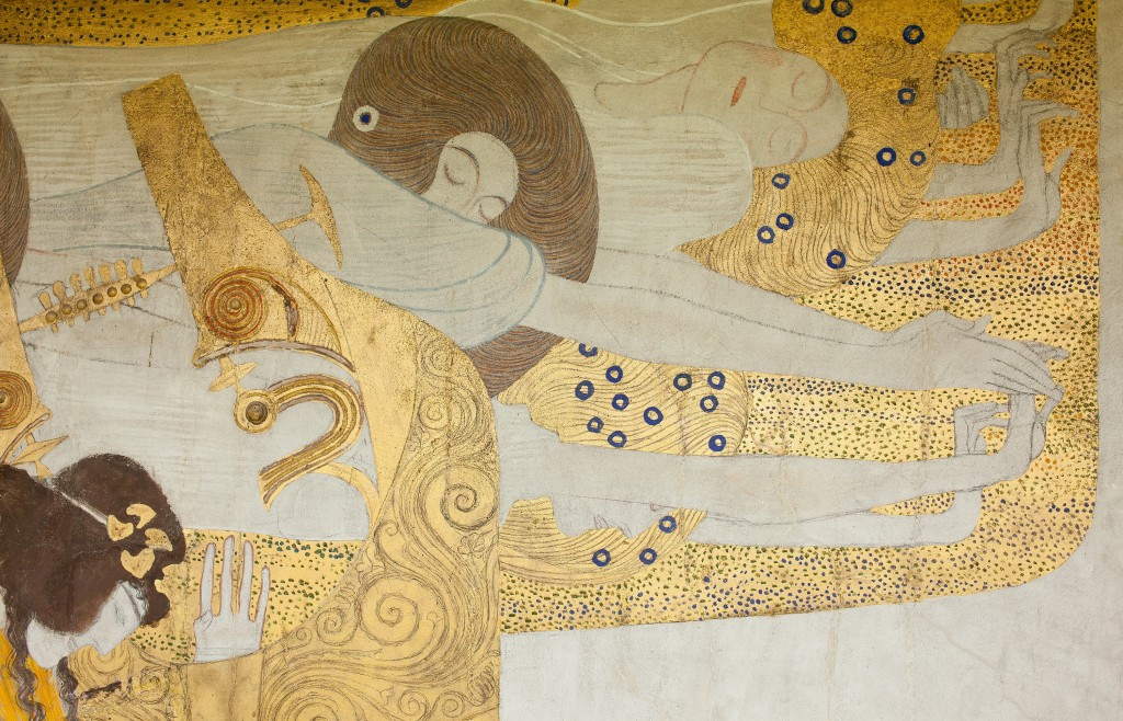 gustav klimt beethoven frieze vienna secession 1902 readable. Black Bedroom Furniture Sets. Home Design Ideas