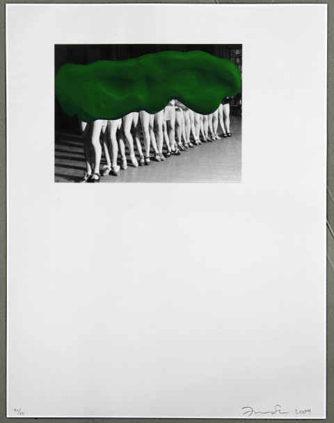 2008: Frances Stark, screen print, 36,6 x 47,8 cm, 2009, Edition 85 + 2 AP