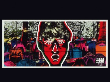 Gilbert and George, New Cosmological Pictures, 1989, serie of 48 coloured photographs, Vienna Secession