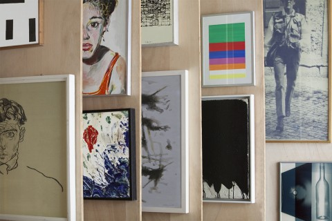 A view into Secession's art collection. Photo: Hessam Samavatian